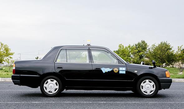 写真:タクシー