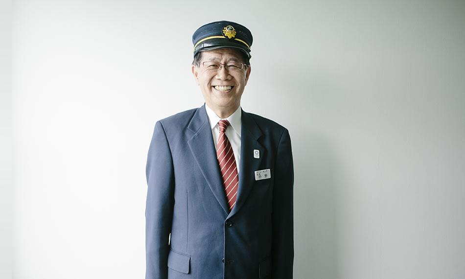 写真:先輩インタビュー狩野 茂雄