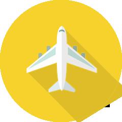 イラスト:飛行機