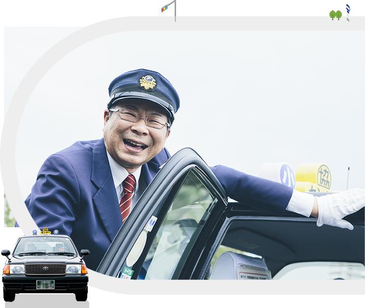 写真:タクシー運転手